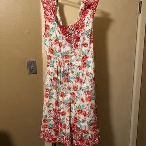 Perfect floral summer dress